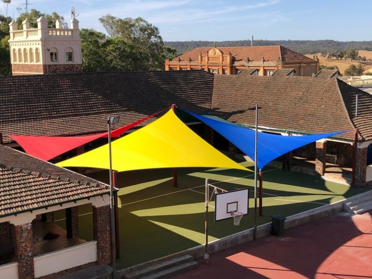 4 Hypar Shade Sail Design - Cool Solutions