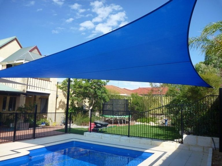 Royal Blue - Pool Shade Sail - Cool Solutions